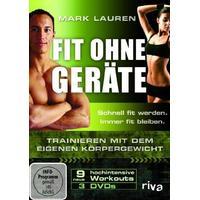 Mark Lauren - Fit ohne Geräte - Trainieren mit dem eigenen Körpergewicht [DVD]